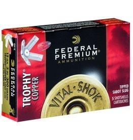 """Federal Federal Premium 12GA  3"""" 300gr Trophy Copper Tipped Sabot Slug 5rnd"""