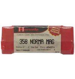 Hornady Hornady Custom 358 Norma Mag FL Die Set, (546406)