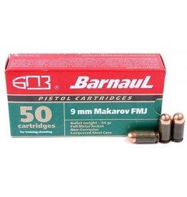 Barnaul Barnaul 9mm Makarov 94 gr FMJ