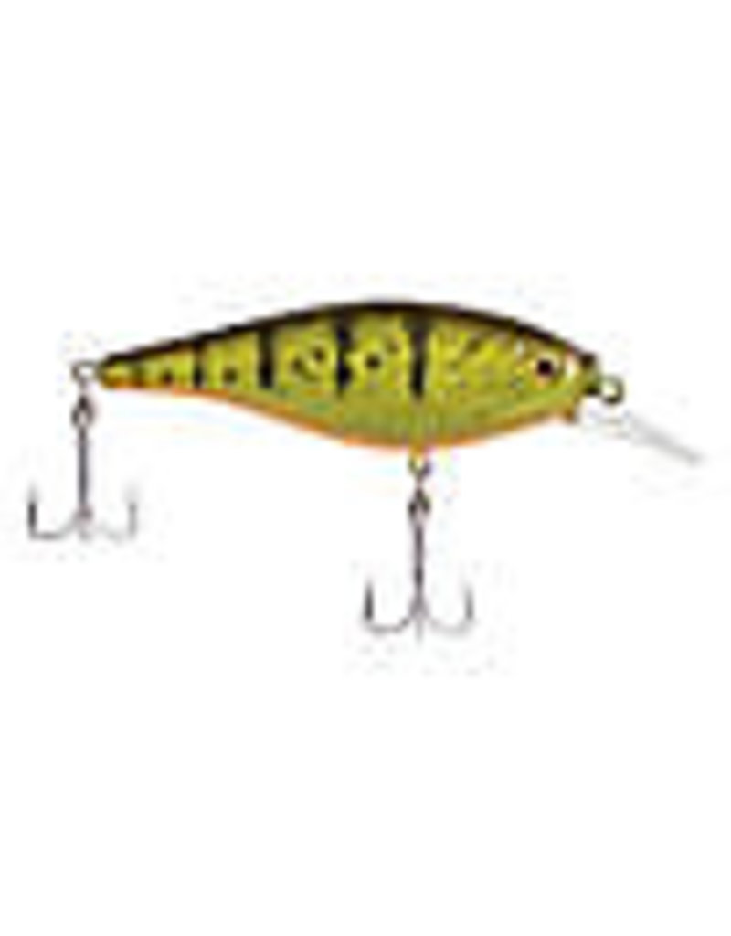 Berkley Berkley Flicker Shad Shallow, Enhanced Slow Roll & Flash Yellow Perch (FFSH5S-YP)