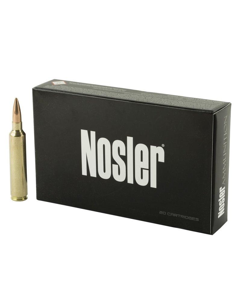 Nosler Nosler Match Grade Rifle Ammo 28 Nos 168gr Custom