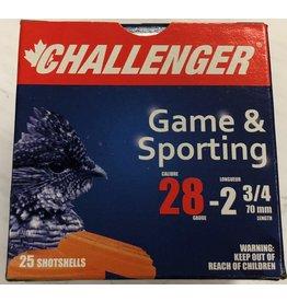 "Challenger Challenger 28ga 2 3/4"" 3/4oz #8 Target (40078)"