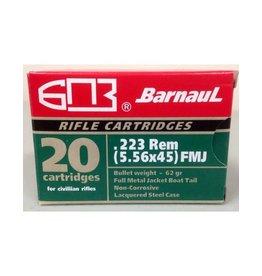 Barnaul Barnaul Ammunition  BRN 223 Rem 62 Gr FMJBT