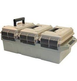 MTM MTM-3 Can Ammo Crate w/3 50 Cal Cans (MTM-AC3C)