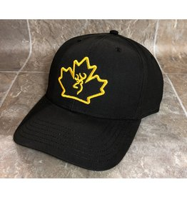 Browning Browning  Cap Maple Leaf Dark Brown Wax (308848981)