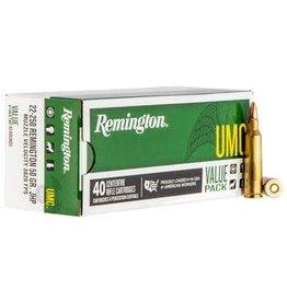 Remington Remington UMC Value Pack 22-250 Rem 50gr JHP 40rd (L2250rB)