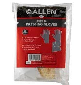 Allen Allen Field Dressing  Gloves  12 Pairs  (516)