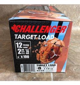 Challenger Challenger Target Load 12 Ga, No 8. 2 3/4 Diam 100 RD Packs (43018)