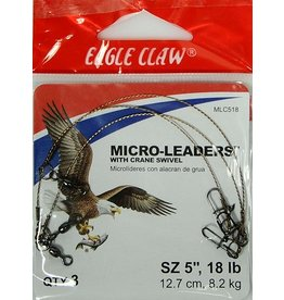 "Eagle Claw Eagle  Claw Micro Leader 5"" Micro Leader 15 LB"