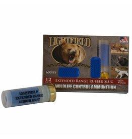 Lightfield Light Field Wildlife Control Extended Rubber 12 Ga 600 FPS (CWXR-12)