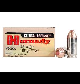 Hornady Hornady Critical Defense 45 ACP 185gr FTX (90900)