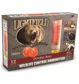 "Lightfield Lightfield Wildlife Control Double Ball 12GA, 2 3/4"""
