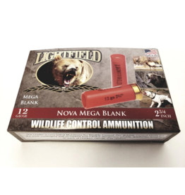 "Lightfield Lightfield Wildlife Control Nova Mega Blank 12GA, 2 3/4"""