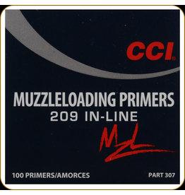 CCI CCI 209 In-Line Muzzleloading Primers 100ct (0307)