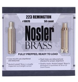 Nosler Nosler 223 Rem Unprimed Brass 50ct. (10070)