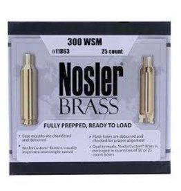 Nosler Nosler 300 WSM Unprimed Brass 25ct. (11863)