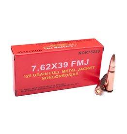 Norinco Norinco 7.62x39 122 GR FMJ Non  Corrosive 20rnd