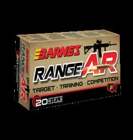 Barnes Barnes Range AR 5.56X45MM  52 GR