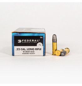 Federal Federal 22LR Std Velocity (714)