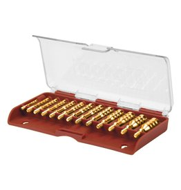 Tipton Tipton Solid Brass 13 Pc. Jg Set .17-.45 Cal (749245)