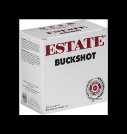 "Estate Estate 12ga, 2.75"", 00 Buck Shot, 25 rnds"