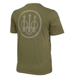 Beretta Beretta Trident T-Shirt Army Green Small (TS631