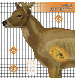 Champion Champion X-Ray Deer Target 25x25 6 Pck (45902)