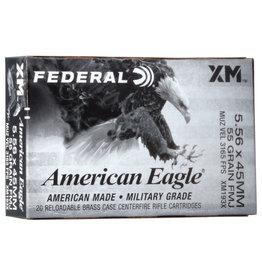 Federal Federal XM193X AE 5.56 Nato FMJBT 20 Rds