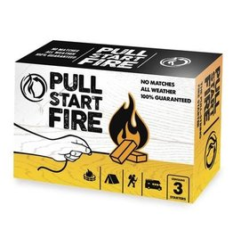 Pull Start Fire Starter Fire  Star Burns  30 Min (77303)