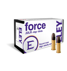 ELEY Eley Force 22LR 42gr RN High Velocity Semi Auto