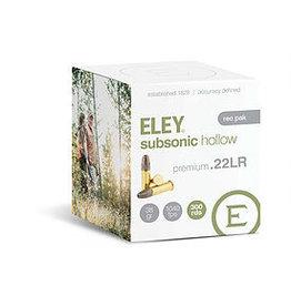 ELEY Eley Subsonic HP 22LR 38gr 300 rd Rec Pack