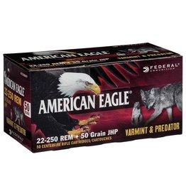 American Eagle American Eagle 22-250 Rem 50gr JHP Varmint & Predator 50ct.