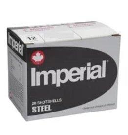 """Imperial Imperial Steel 12ga 2.75"""", 1 1/8oz #1, 20 rnds"""