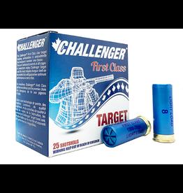 """Challenger Challenger 12ga 2.75"""", 1 1/8oz, 3dr, #8 Target Load, 100rnd"""