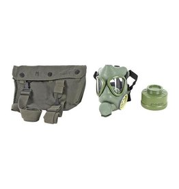Yugoslavian Yugoslavian M1 Gas Mask w/ Carry Pouch, Filter Canister (M1 GAS MASK)