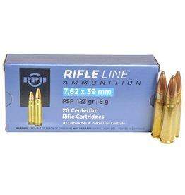 PPU PPU Rifleline 7.62x39 123gr FMJ