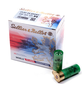 "Sellier & Bellot Sellier & Bellot 12 Ga 2 3/4"" 24g Target Load #7.5 (420m/s)"