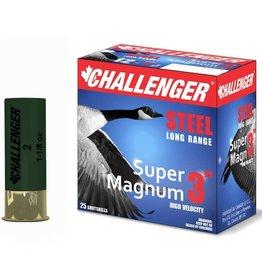 "Challenger Challenger Steel 12ga 3"" 1 1/8oz #2 (50172)"