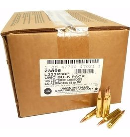 Remington Remington UMC 223 Rem 55gr FMJ 1000rd Bulk Pack (L223R3BP)
