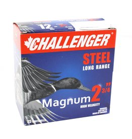 "Challenger Challenger Steel 12ga 2 3/4"" , 1 1/8oz, #3 (50053)"