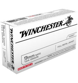 Winchester Winchester 9mm 124gr FMJ 50ct. (Q4318)