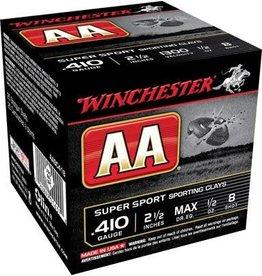 "Winchester Winchester AA 410ga 2 1/2"", 1/2oz, #8 (AASC418)"