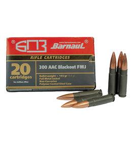 Barnaul Barnaul 300 AAC Blackout 145gr FMJ (300AACBLK)