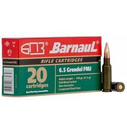 Barnaul Barnaul 6.5 Grendel 100gr FMJ (65GREN)