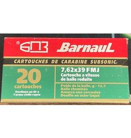 Barnaul Barnaul 7.62x39 196gr Subsonic FMJ (76239SUB)