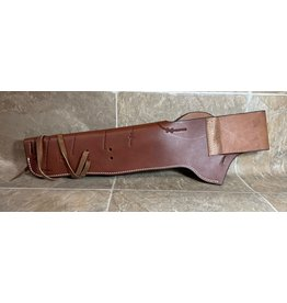 Jossy Jossy Leather Mares Leg Holster w/ Barbed Wire Design