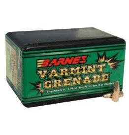 Barnes Barnes .243dia 62gr HP FB Varmint Grenade 50 CT Bullet (30214)