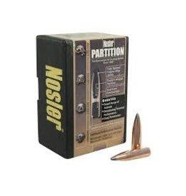 Nosler Nosler .358dia 35Cal 225gr Spitzer Partition 50ct Bullet (44800)