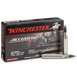 Winchester Winchester 270 Win 140gr Accubond CT (S270CT)