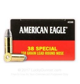 American Eagle Federal American Eagle 38 Special 158gr LRN 50rd box (AE38B)